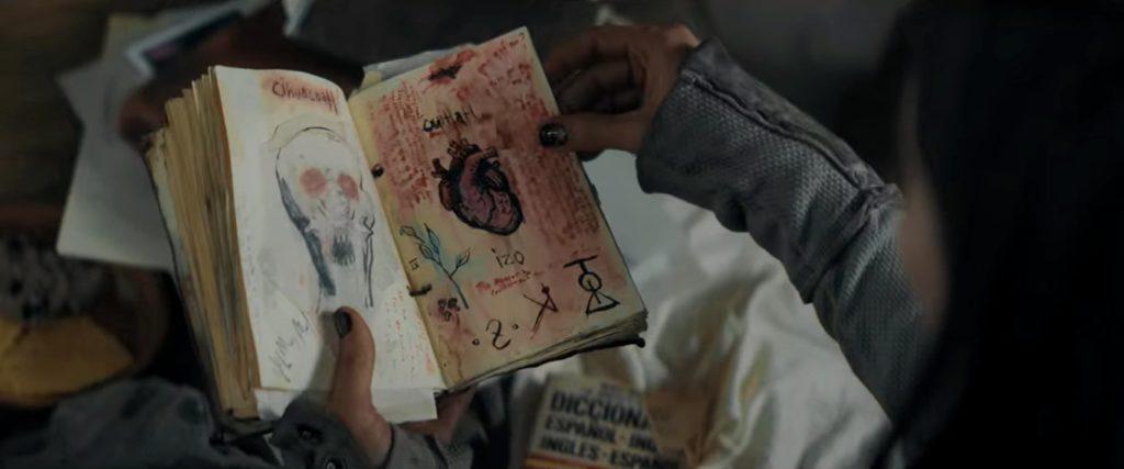 Carnet sorcellerie tribale film d'horreur The Old Ways avis